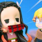 【鬼滅の刃】 Kimetsu No Yaiba 善逸は、爆発するプレゼントを渡した禰豆子を狂わせる