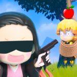 【鬼滅の刃】Kimetsu No Yaiba 善逸伊之助轟音凍りつきの勝者を探すために銃を撃つ