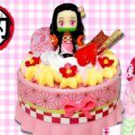 【鬼滅の刃】みつりちゃんがかわいすぎる禰豆子ちゃんケーキをつくるよ! ホイップる 甘露寺蜜璃 もけにゃん 炭治郎 鬼滅の刃コラボ
